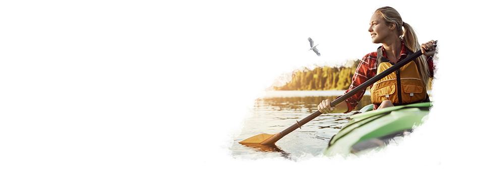 Водные походы на байдарках